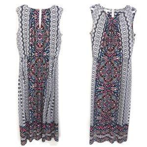 London Times Women's Sleeveless Maxi Dress ATK